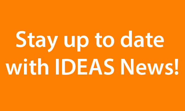 Stay up to date with IDEAS News!